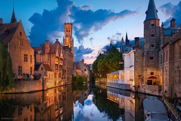 Μπρυζ - Γάνδη - Αμβέρσα - Βρυξέλλες